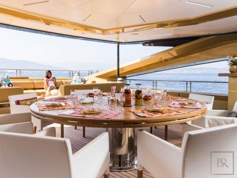 Palmer Johnson KHALILAH 49 Meters motor yacht charter rental For Super Rich