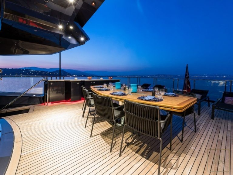 Palmer Johnson KHALILAH 49 Meters available charter rental For Super Rich