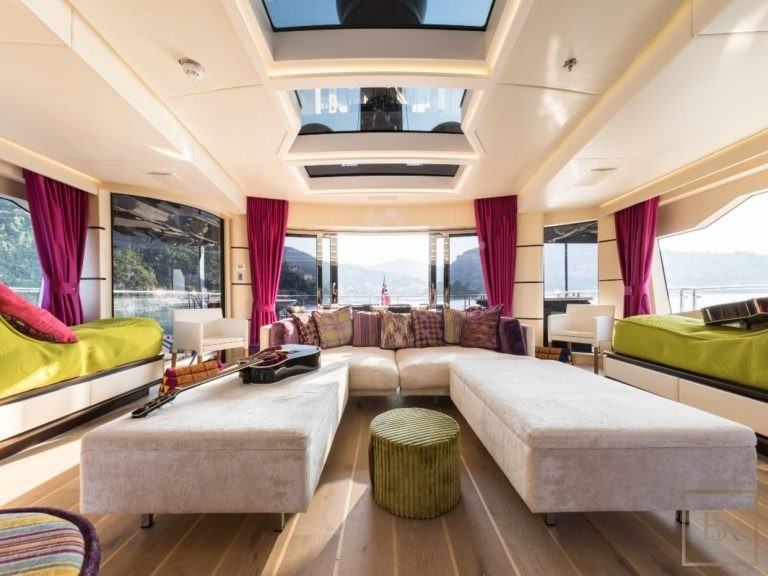 Palmer Johnson KHALILAH 49 Meters superyacht charter rental For Super Rich