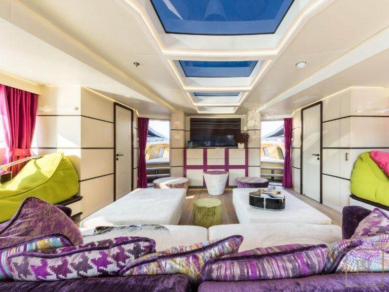 Palmer Johnson KHALILAH 49 Meters price charter rental For Super Rich