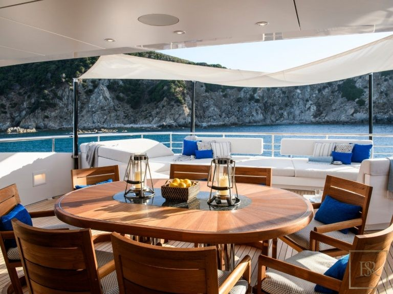 Heesen Yachts IRISHA 51 Meters holiday charter rental For Super Rich