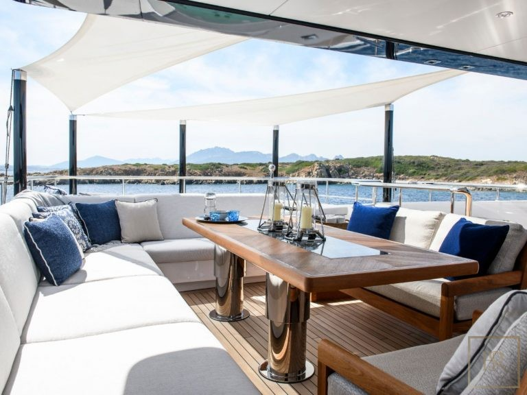 Luxury mega yacht for charter for super rich