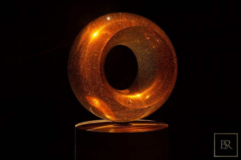 Art Sculpture EPICENTER Gold - Bohemian Crystal Czechia for sale For Super Rich