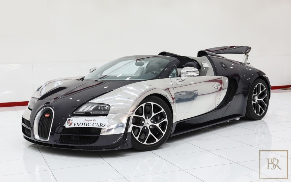 used 2014 bugatti veyron grand sport 14000 km for sale