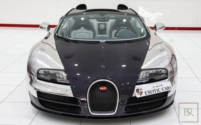2014 Bugatti Veyron Grand Sport Vitesse Platinum Silver for sale For Super Rich