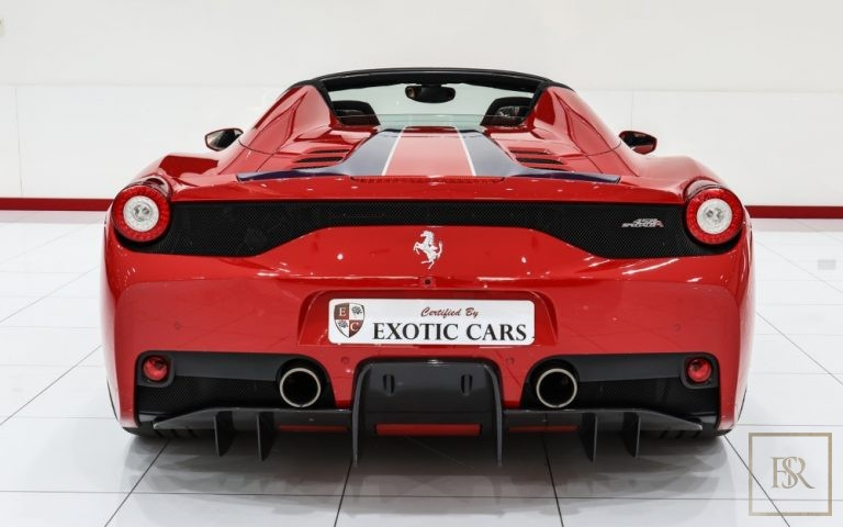 2014 Ferrari 458 Speciale Aperta V8 for sale For Super Rich