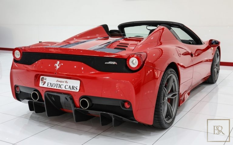 2014 Ferrari 458 Speciale Aperta 3.9 Litre for sale For Super Rich