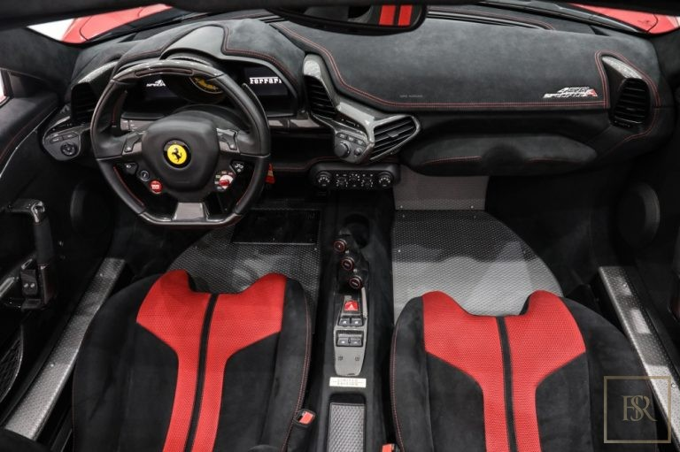 2014 Ferrari 458 Speciale Aperta interior for sale For Super Rich