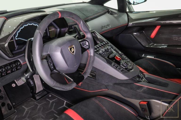 2017 Lamborghini Aventador SV Roadster LP750-4 United Arab Emirates for sale For Super Rich