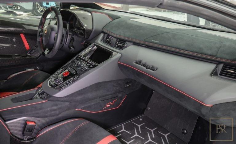 2017 Lamborghini Aventador SV Roadster LP750-4 buy for sale For Super Rich