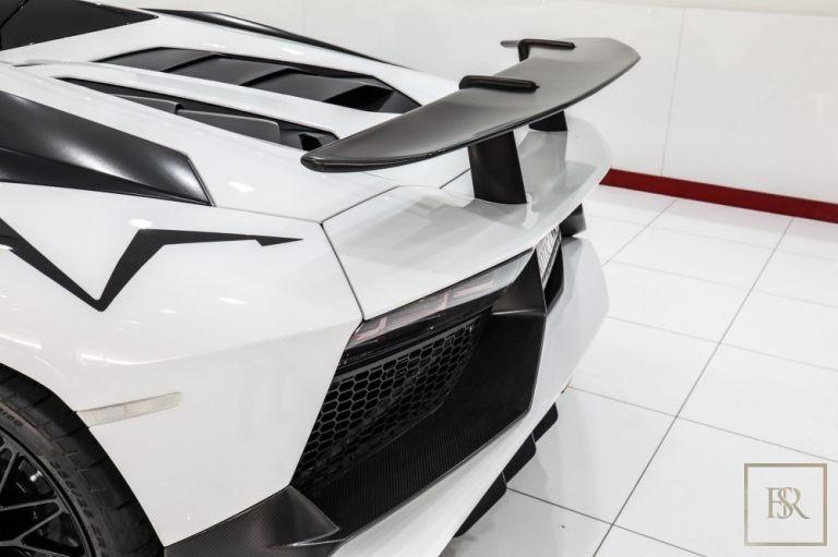 2017 Lamborghini Aventador SV Roadster LP750-4 Coupe for sale For Super Rich