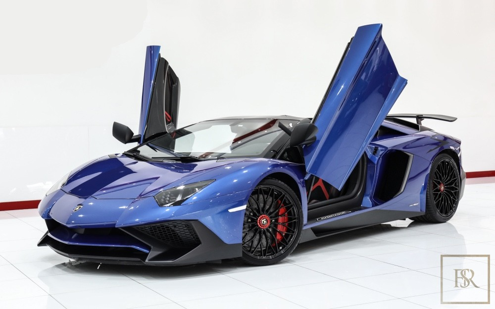 2017 Lamborghini Aventador SV Roadster LP750-4 for sale For Super Rich