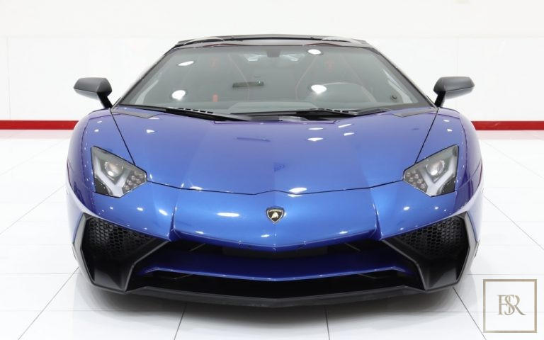 2017 Lamborghini Aventador SV Roadster LP750-4 Black  for sale For Super Rich