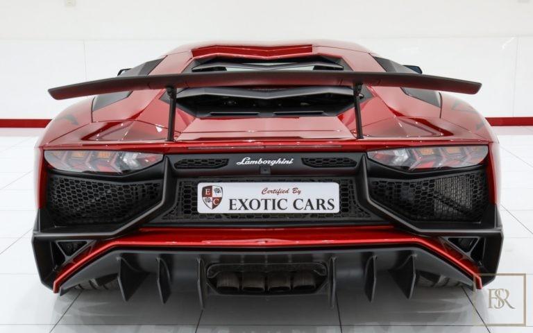 used Lamborghini Aventador SV 750 for sale luxury car