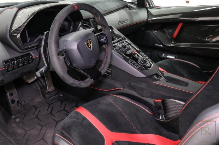 used Lamborghini Aventador SV 750 for sale exotic cars