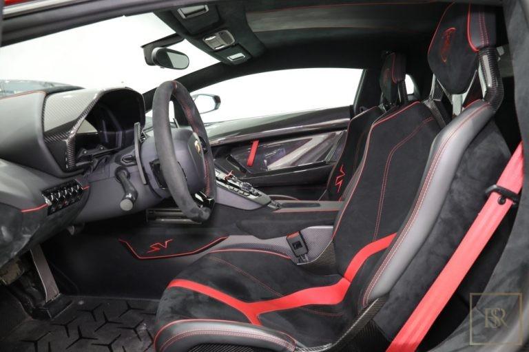 used Lamborghini Aventador SV 750 for sale dubai