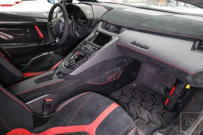 used Lamborghini Aventador SV 750 for sale worldwide