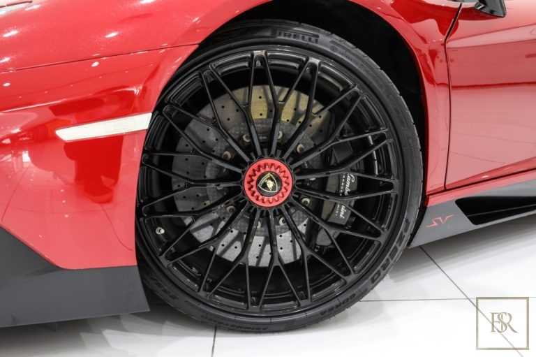 used Lamborghini Aventador SV 750 for sale hypercar