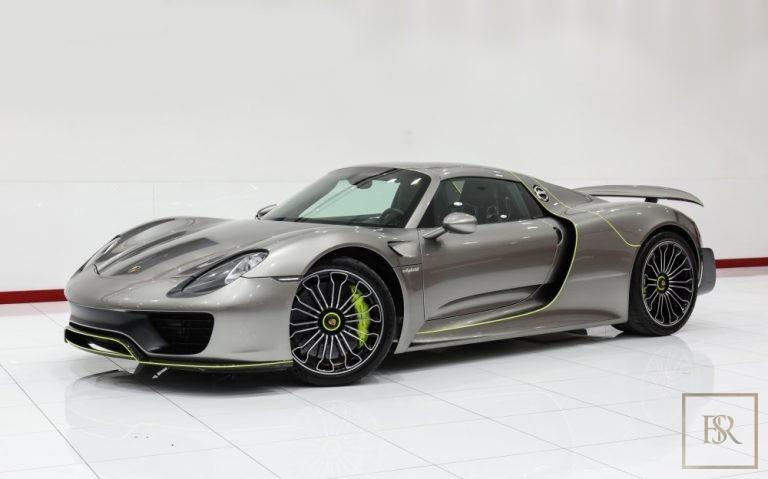 2015 Porsche 918 SPYDER Grey for sale For Super Rich