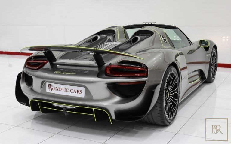 used Porsche 918 SPYDER for sale luxury car