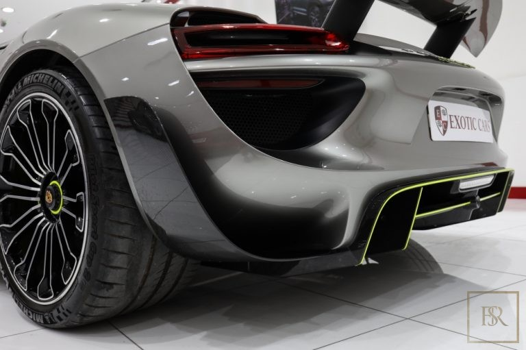 used Porsche 918 SPYDER for sale exotic cars