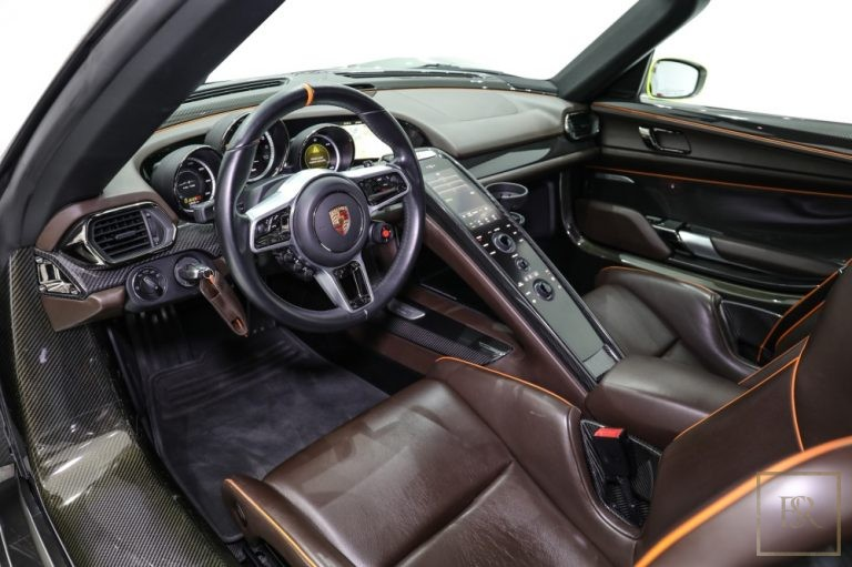 used Porsche 918 SPYDER for sale worldwide