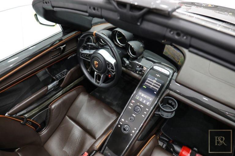2015 Porsche 918 SPYDER interior for sale For Super Rich