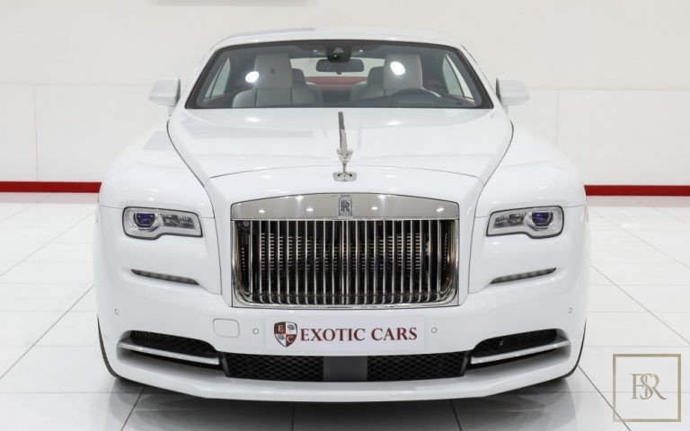 2018 Rolls-Royce WRAITH Ivory + Red for sale For Super Rich