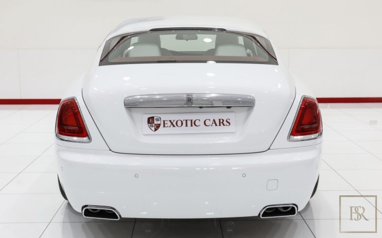 2018 Rolls-Royce WRAITH White for sale For Super Rich