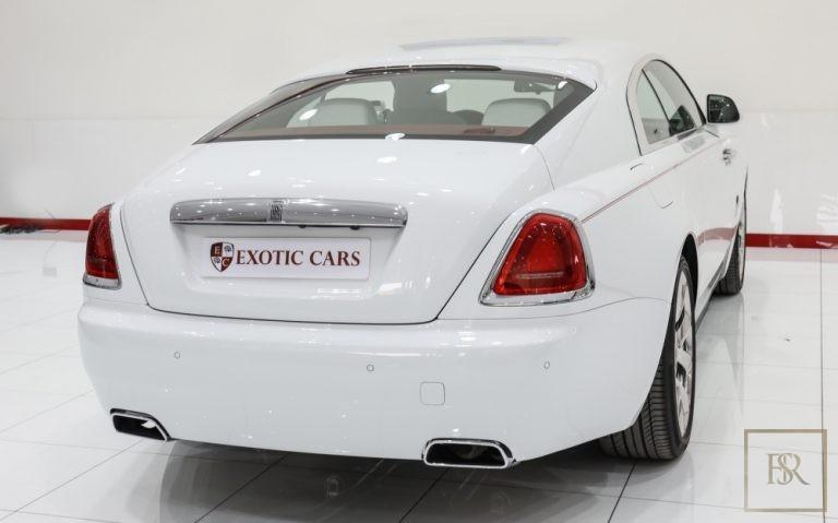 2018 Rolls-Royce WRAITH 6.6 Litre for sale For Super Rich