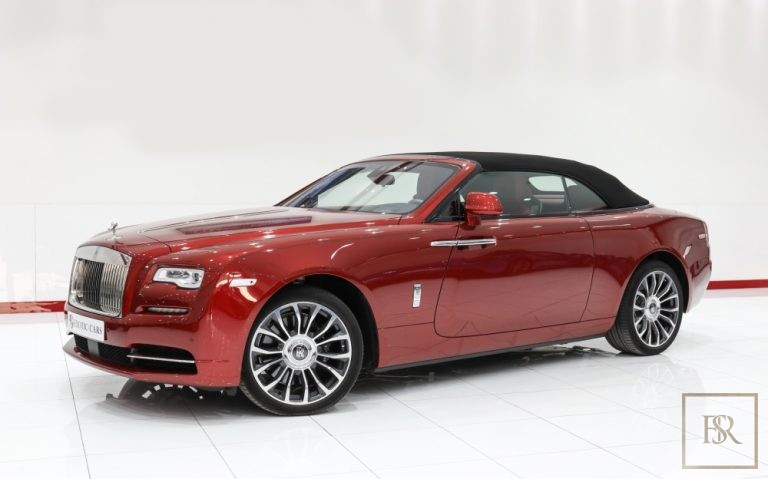 2018 Rolls-Royce DAWN Red for sale For Super Rich