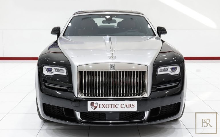 2018 Rolls-Royce GHOST Red + Black for sale For Super Rich