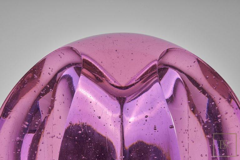 Art Sculpture TEMPTATION Rose - Bohemian Crystal 0 for sale For Super Rich