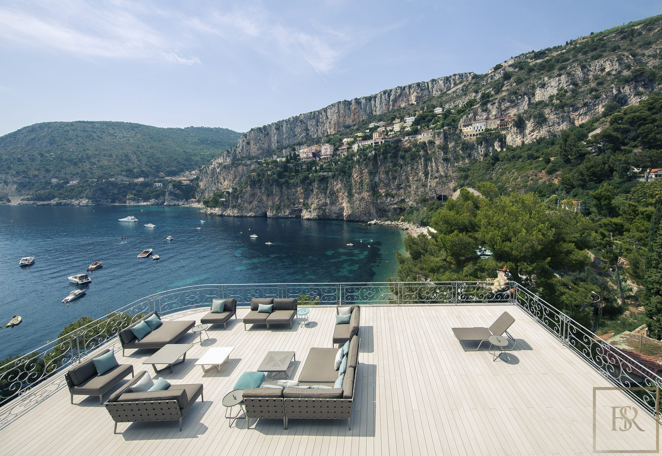 Villa Waterfront Amazing View 7 BR- Cap D'Ail, French Riviera rental For Super Rich