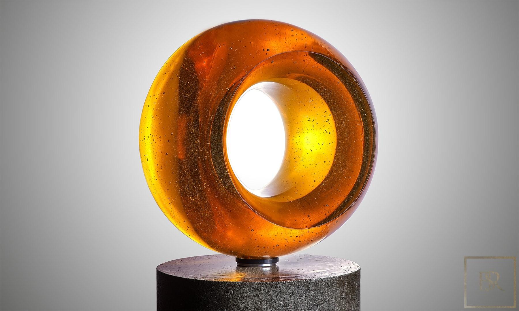 Art Sculpture EPICENTER Gold - Bohemian Crystal for sale For Super Rich