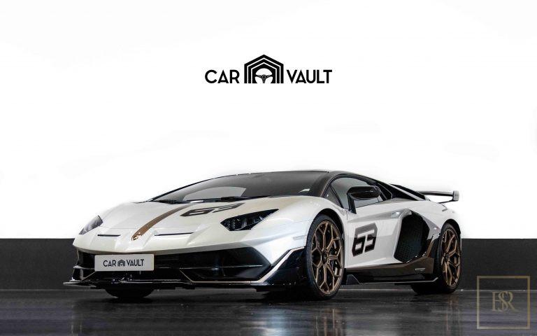 2020 Lamborghini AVENTADOR SVJ White for sale For Super Rich