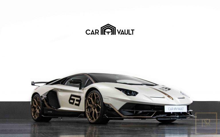 2020 Lamborghini AVENTADOR SVJ Black Alcantara for sale For Super Rich