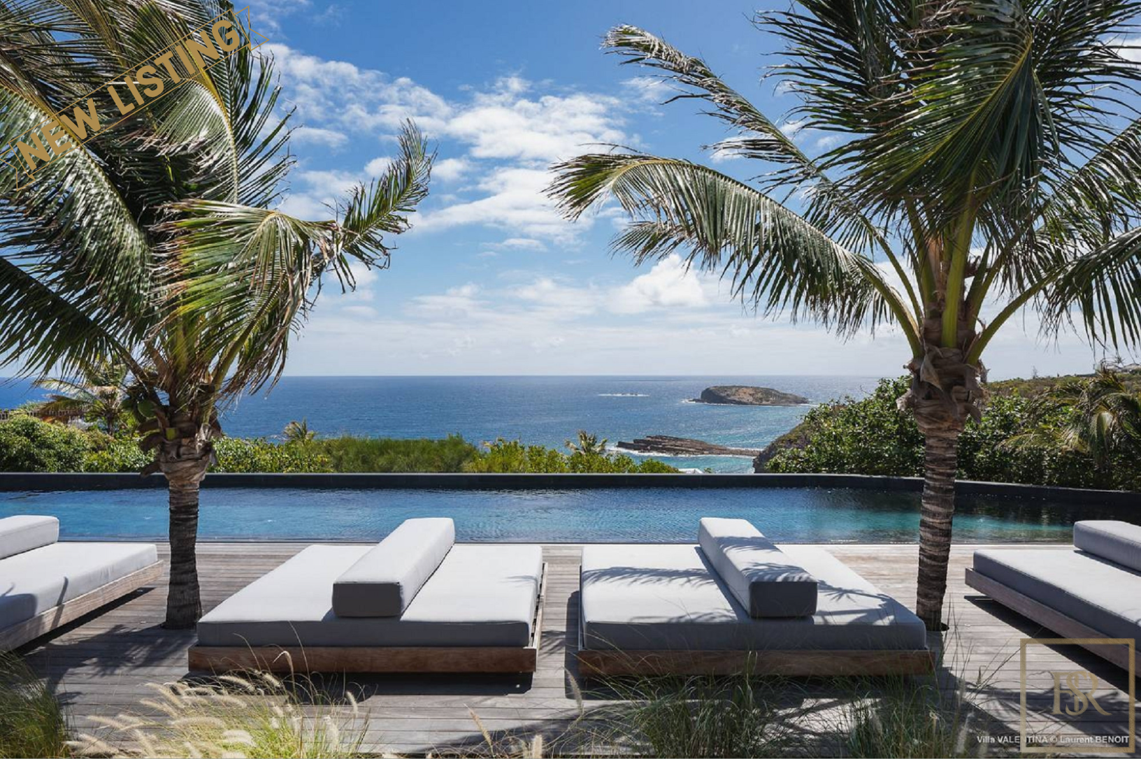 Villa Valentina Estate Pt Milou, St Barth / St Barts for sale For Super Rich