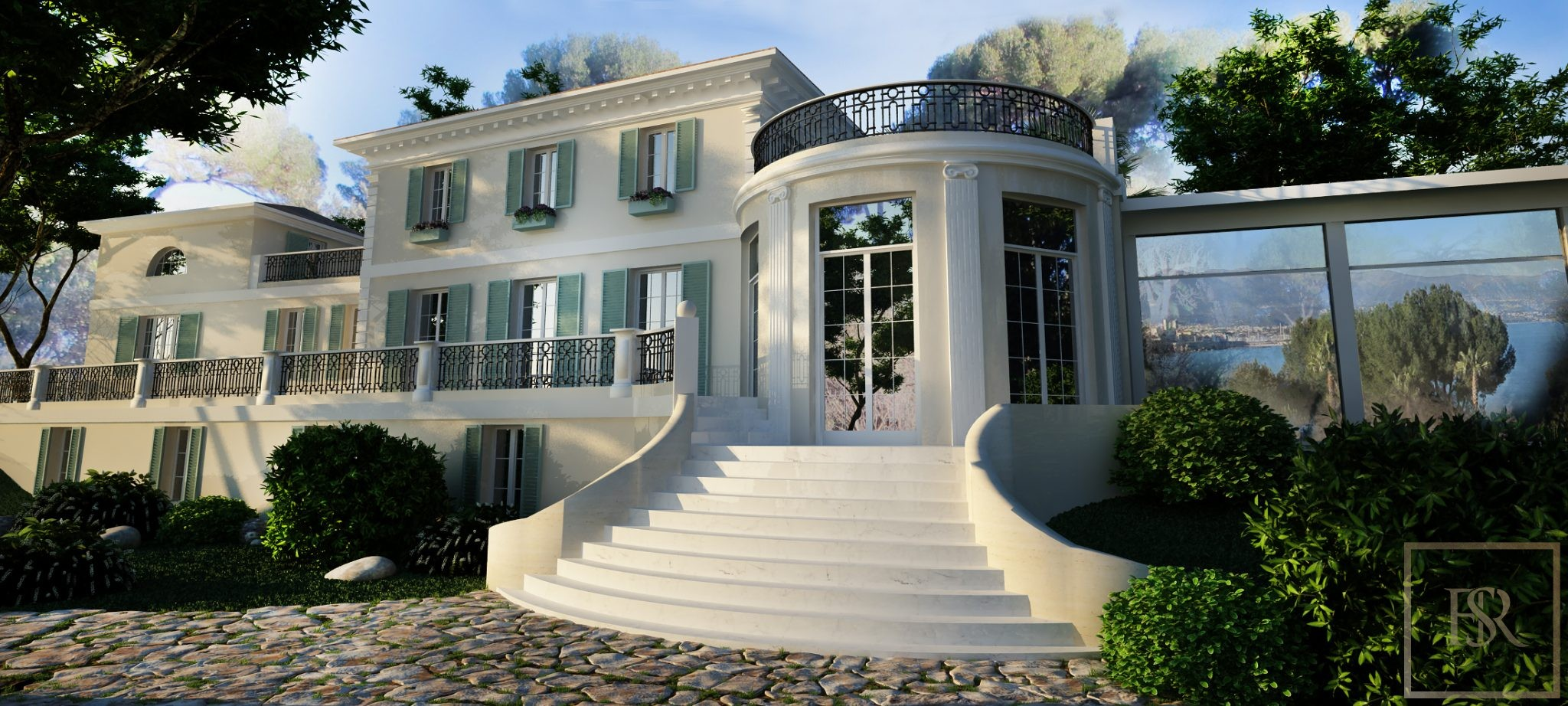 Villa Century - Cap d'Antibes, French Riviera for sale For Super Rich