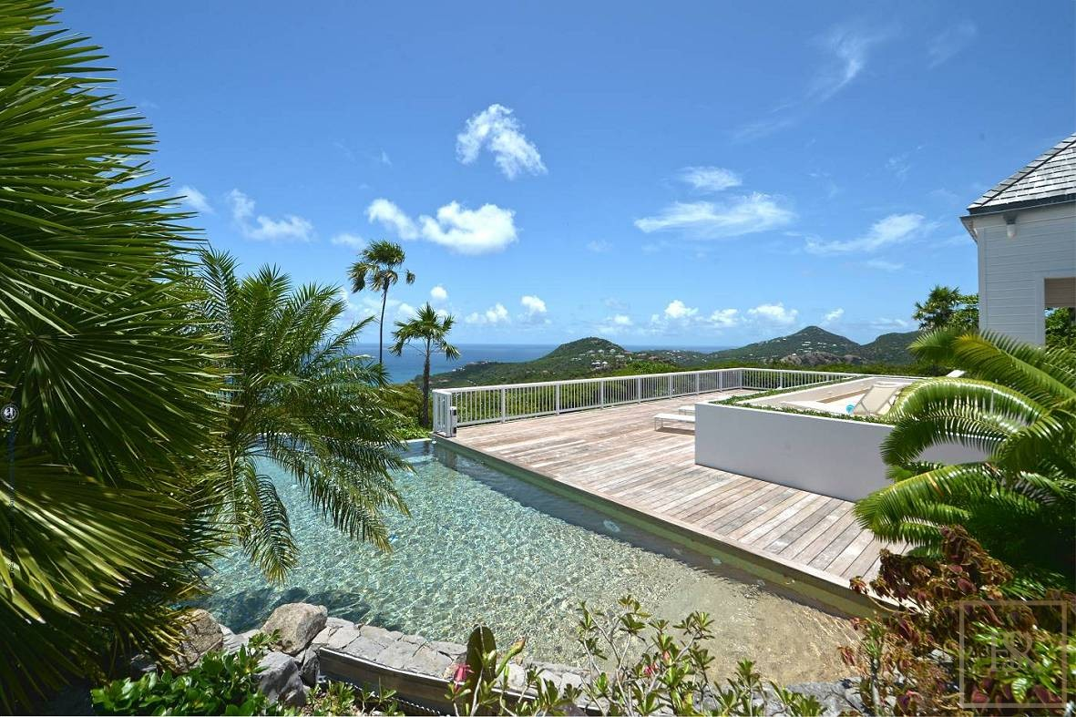 Villa L' Adrech - Lurin, St Barth / St Barts for sale For Super Rich