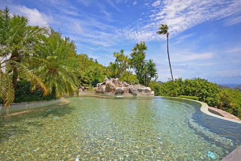 Villa L' Adrech - Lurin, St Barth / St Barts unique for sale For Super Rich