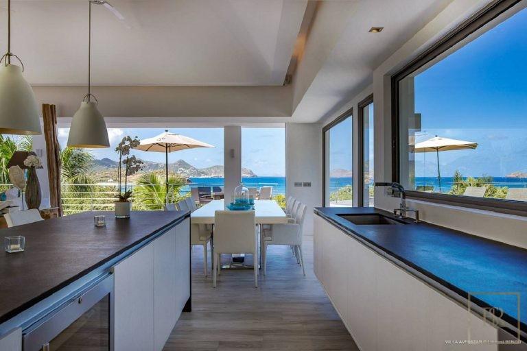 Villa Avenstar 5 BR - Camaruche, St Barth / St Barts price rental For Super Rich
