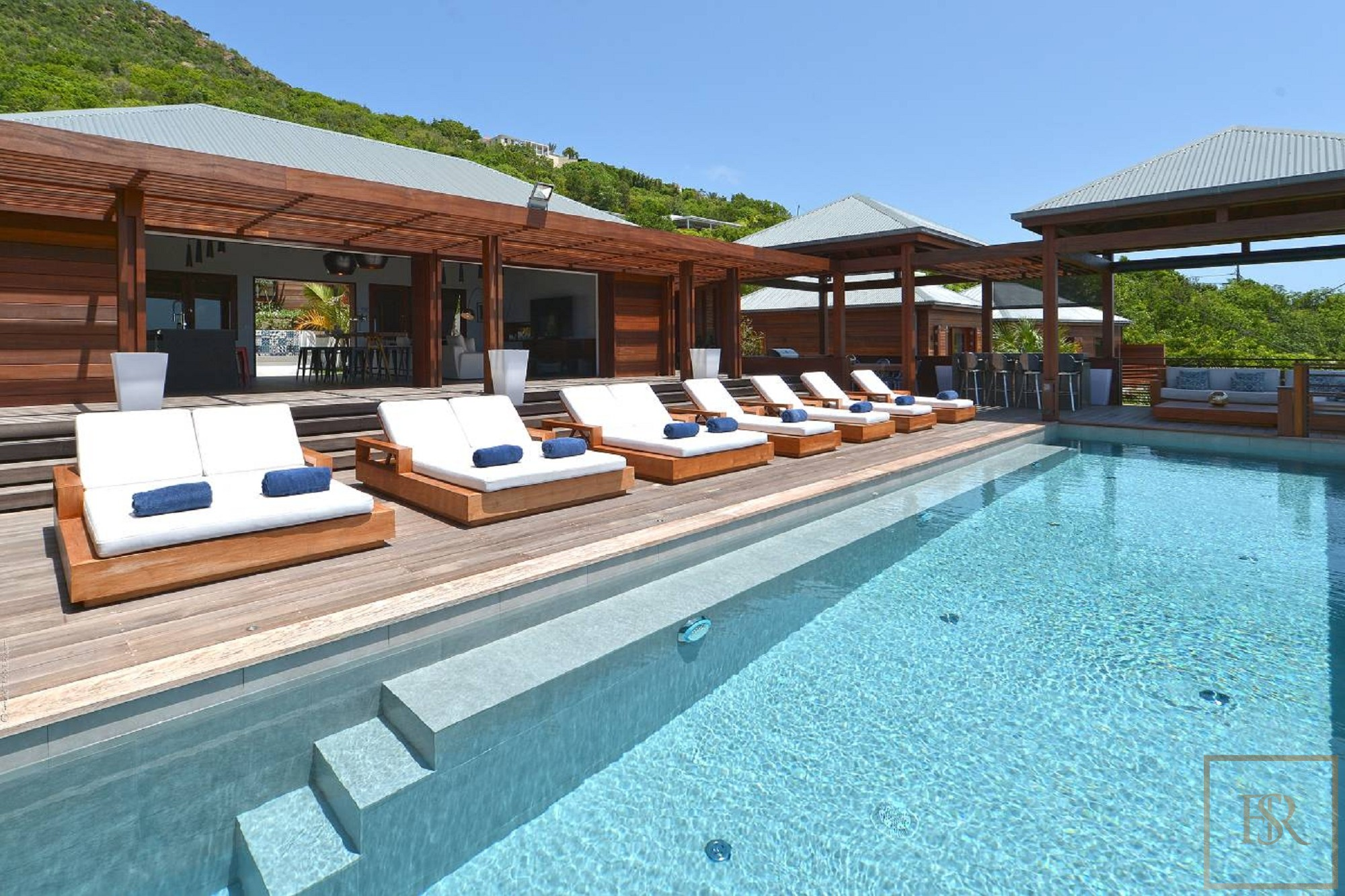 For super rich ultra luxury real estate properties homes, most expensive houses, rent unique penthouse apartment and ultimate villa in St Barth - Devé St Barth St. Barthélemy for rent holiday