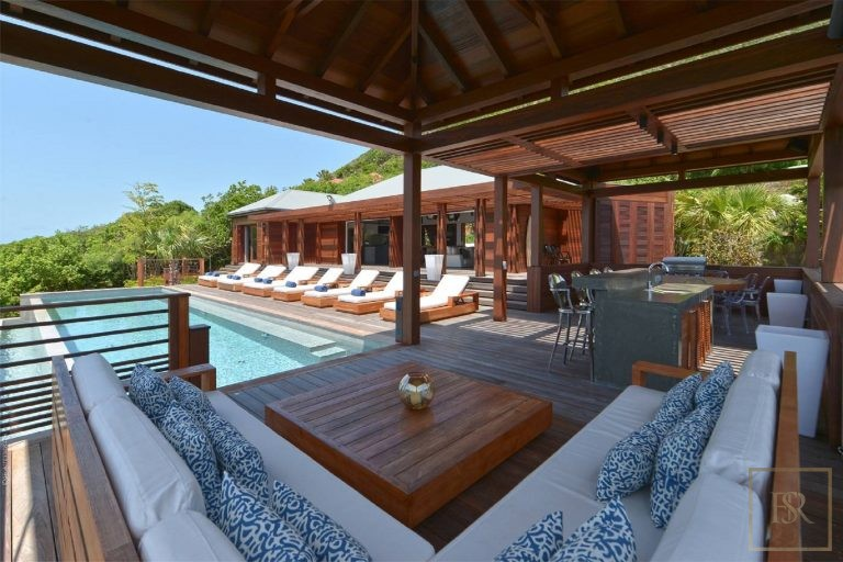 For super rich villa St Barth - Devé St Barth St. Barthélemy for rent holiday