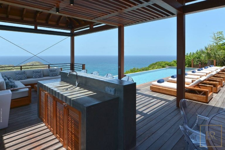 For super rich luxury villa St Barth - Devé St Barth St. Barthélemy for rent holiday