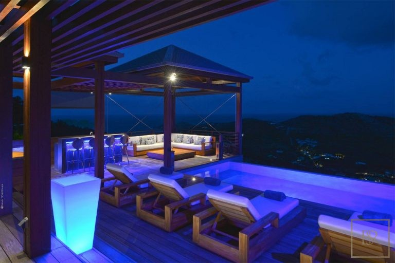 For super rich ultra luxury Villa St Barth - Devé St Barth St. Barthélemy for rent holiday