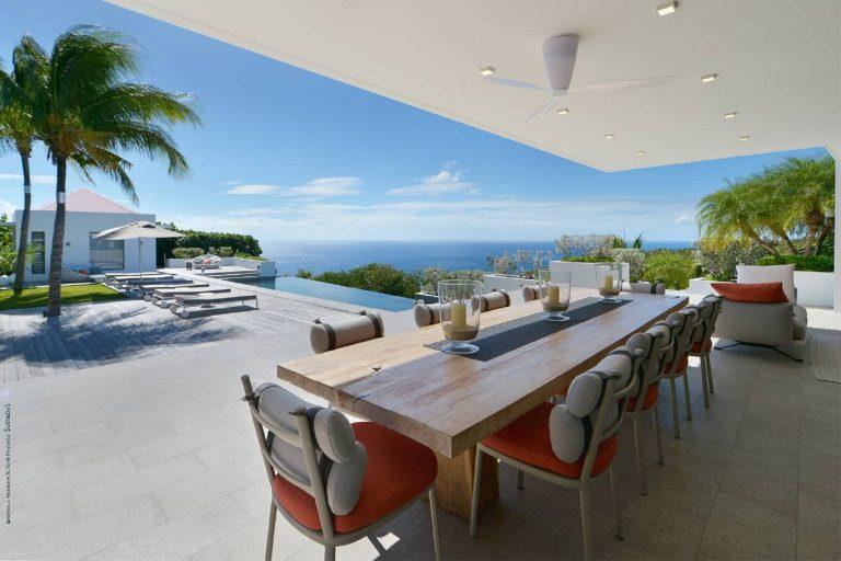 Villa Gem Palm 5 BR - Gouverneur, St Barth / St Barts 46000 Week rental For Super Rich