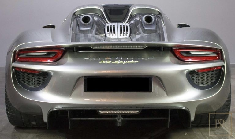 2015 Porsche 918 SPYDER Brown for sale For Super Rich