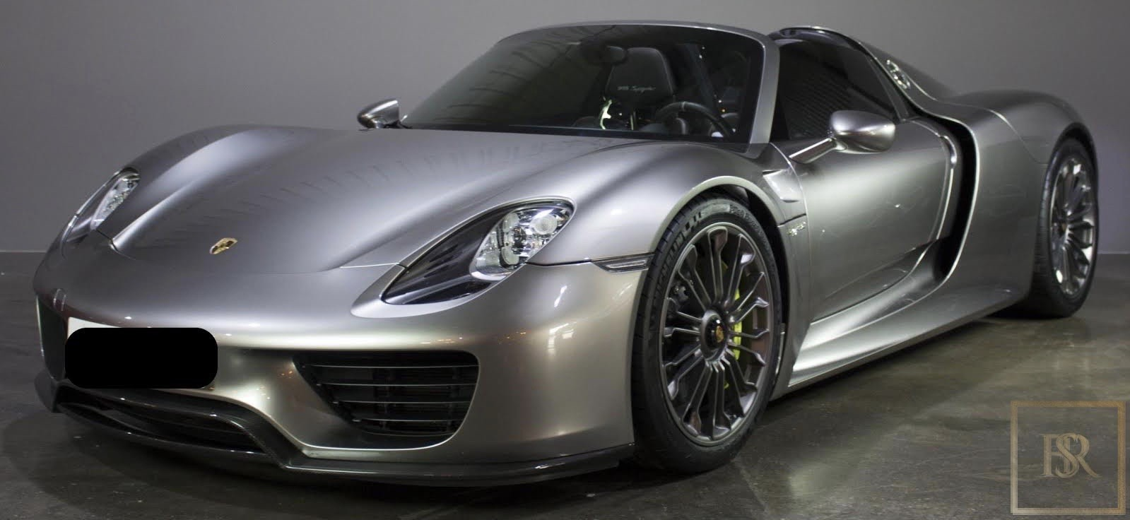 2015 Porsche 918 SPYDER for sale For Super Rich