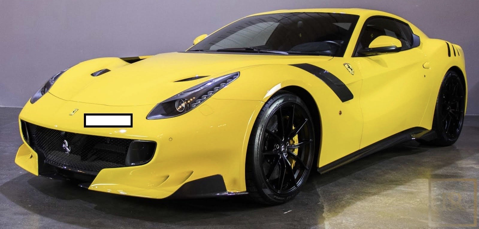 Buy Exotic Used 2016 Ferrari F12 Tdf Yellow 350km For Sale For Superrich